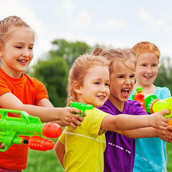 Be prepared, the kids are going to get wet! There will be water pistol target practice, bobbing for ping pong balls using spoons in a tub full of water, a water balloon throwing contest, and more. Suitable for sunny days outdoors. Hats, sunscreen, and a change of clothes recommended!